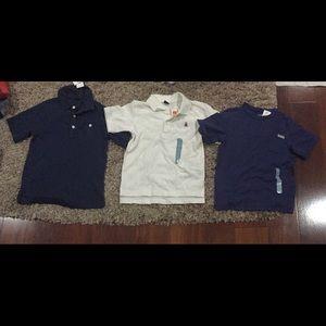 Nwt gap 2-polos and 1 T-shirt